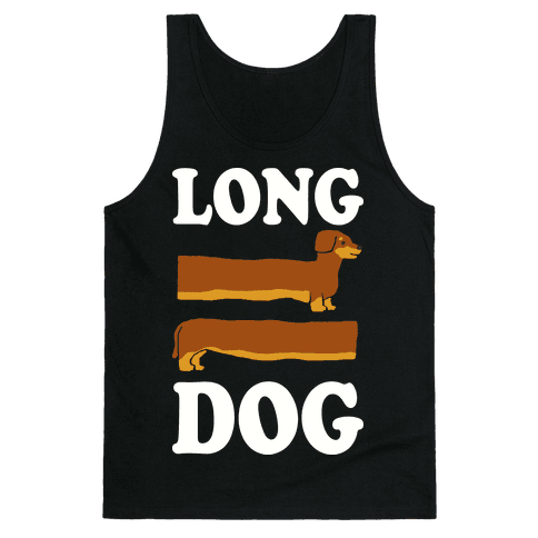 Long Dog Dachshund Tank Top