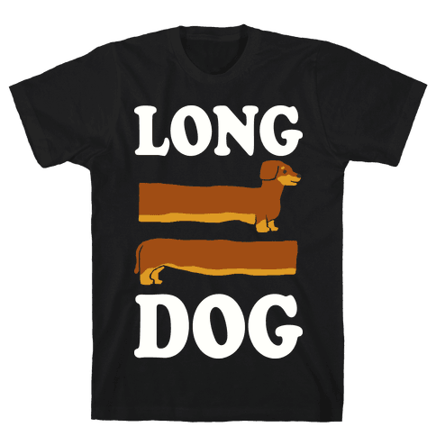Long Dog Dachshund Mens T-Shirt
