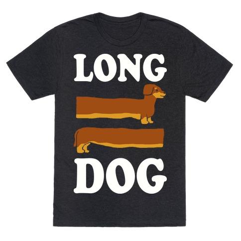 Long Dog Dachshund Mens T-Shirt