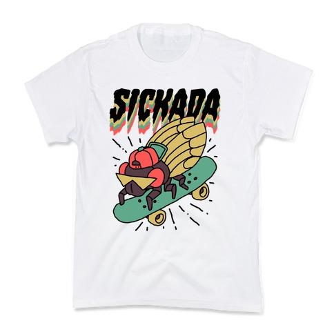 SICKada Cicada Kids T-Shirt