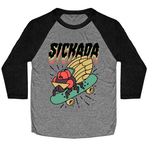 SICKada Cicada Baseball Tee