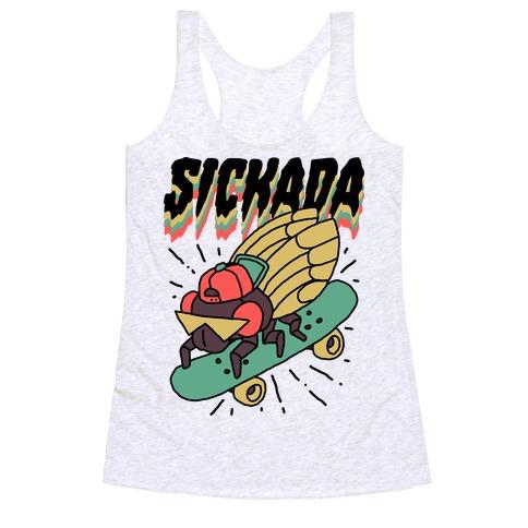 SICKada Cicada Racerback Tank Top