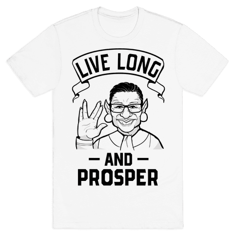 R.B.G. Live Long And Prosper! Mens T-Shirt