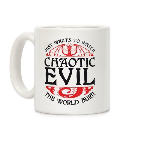 Chaotic Evil Coffee Mug
