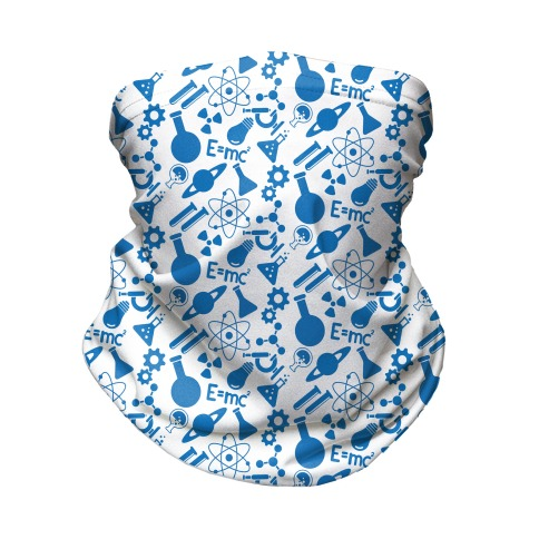 Science Pattern Neck Gaiter