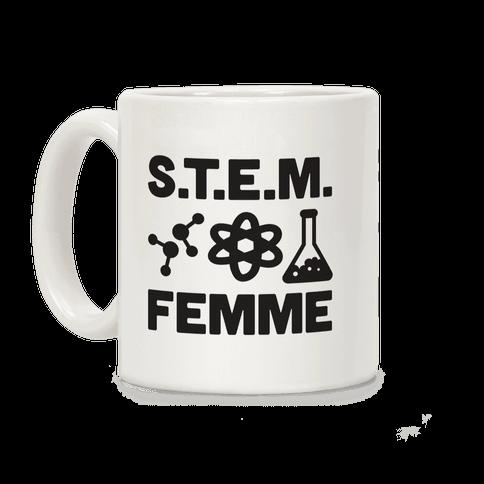 S.T.E.M. Femme Coffee Mug