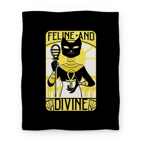 Feline Divine - Bastet Blanket