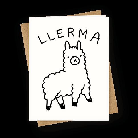 Derpy Llerma Greeting Card