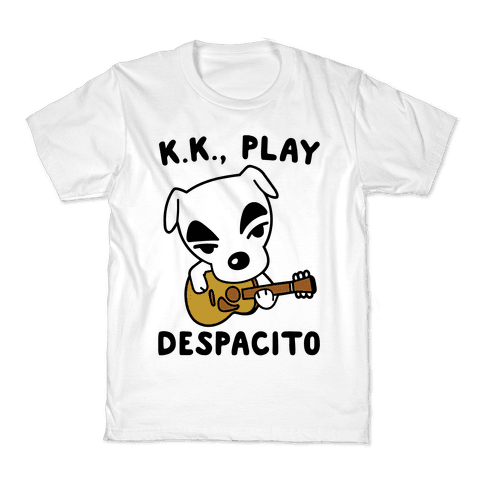 K.K. Play Despacito Parody Kids T-Shirt