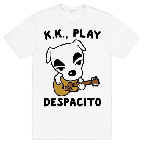 26235c8d7 K.K. Play Despacito Parody Mens T-Shirt
