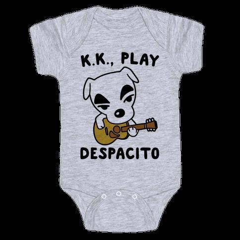 K.K. Play Despacito Parody Baby Onesy