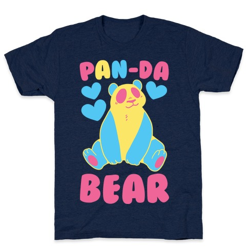 Pan-Da Bear Mens T-Shirt
