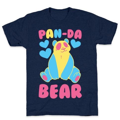 Pan-Da Bear Mens T-Shirt