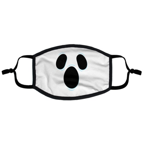 Ghost Face Flat Face Mask