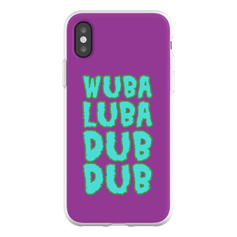 Wubalubadubdub Phone Flexi-Case