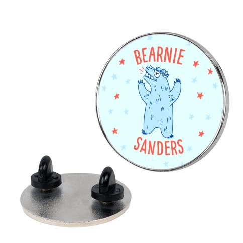 Bearnie Sanders Pin