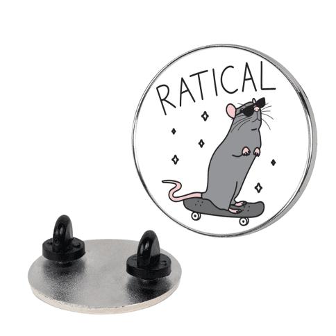 Ratical Rat pin
