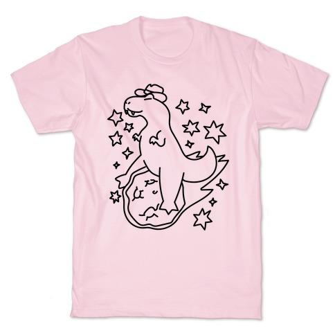 T-Rex Riding a Meteor T-Shirt