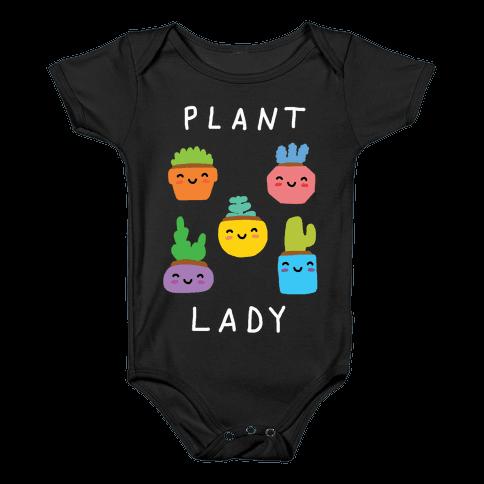 Plant Lady Baby Onesy