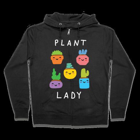Plant Lady Zip Hoodie