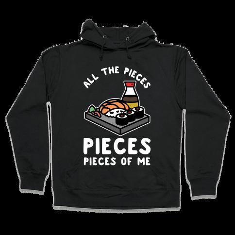 Pieces of Me Sushi Hooded Sweatshirt