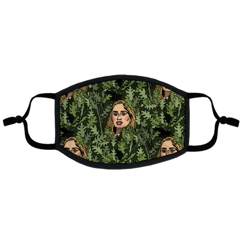 Rolling In The Trees Parody Flat Face Mask