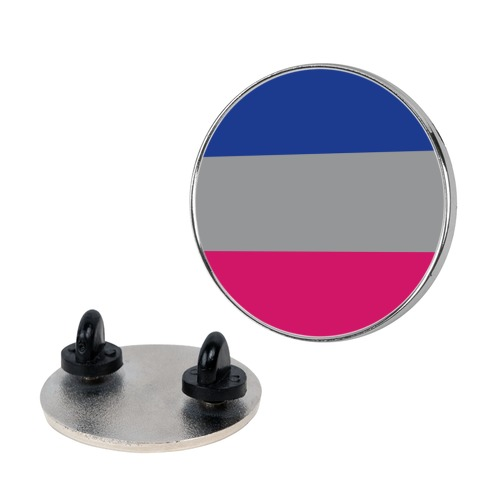 Androgynous Pride Flag Pin