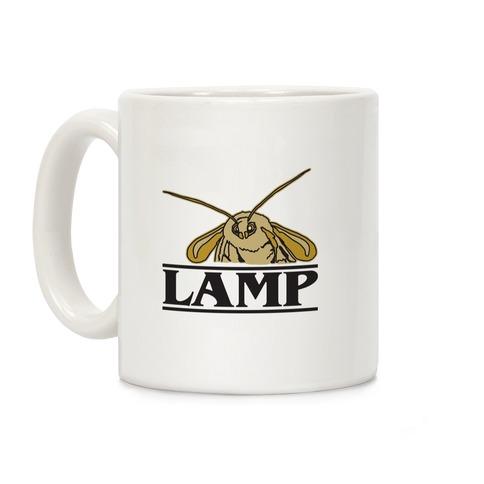 Lamp Moth Stranger Things Parody Coffee Mug