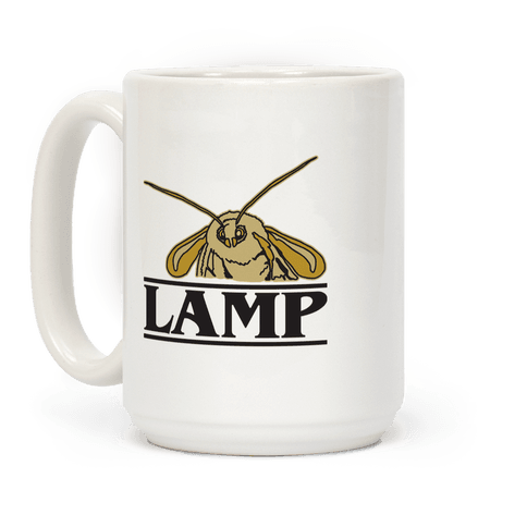 Lamp Moth Stranger Things Parody Coffee Mug