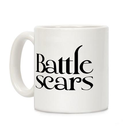 Battle Scars Coffee Mug