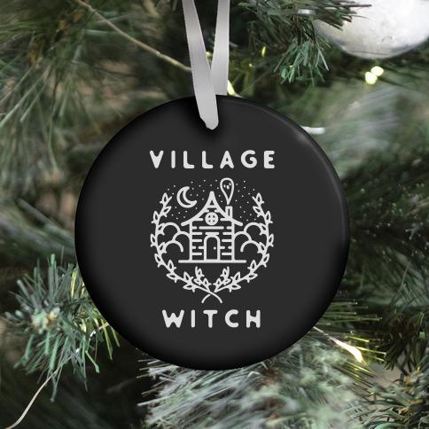 Village Witch Ornament