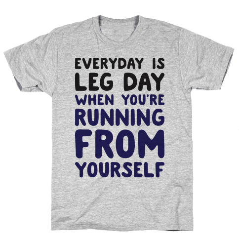 Running From Yourself Mens T-Shirt
