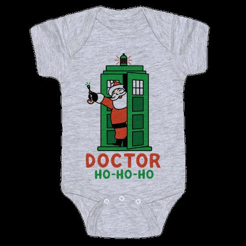 Doctor Ho-Ho-Ho Baby Onesy