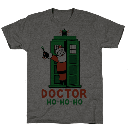 Doctor Ho-Ho-Ho Mens T-Shirt