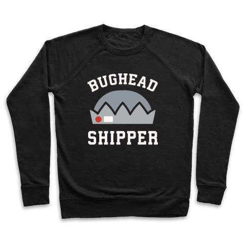Bughead Shipper White Print Pullover