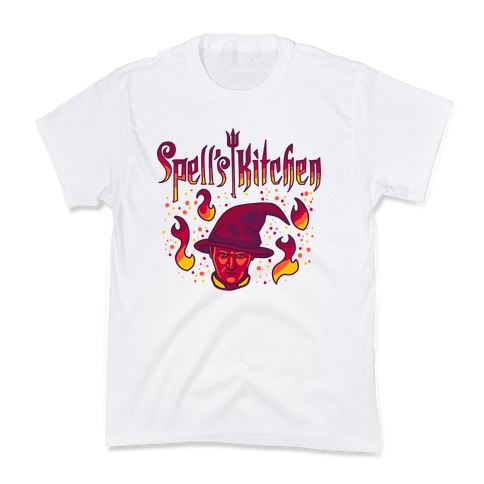 Spells Kitchen Kids T-Shirt