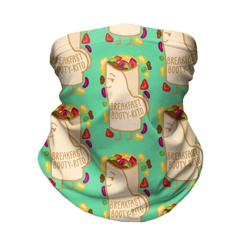 Breakfast Booty-rito Neck Gaiter
