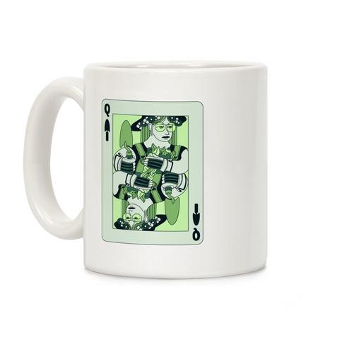 Queen Of Garden Spades Coffee Mug