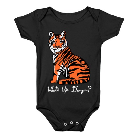 What's Up Danger Tiger Baby Onesy