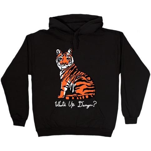 What's Up Danger Tiger Hooded Sweatshirt