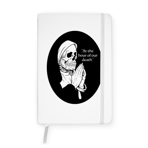 At The Hour of Our Death Notebook