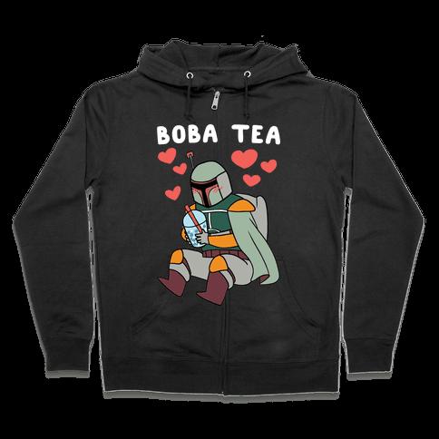 Boba Fett Tea Zip Hoodie