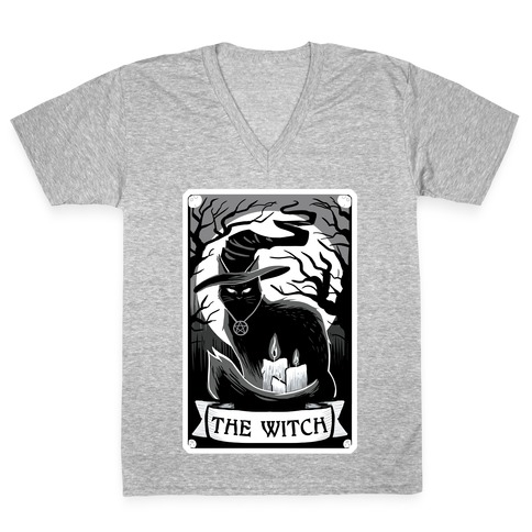 The Witch V-Neck Tee Shirt