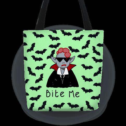 Bite Me Vampire Tote