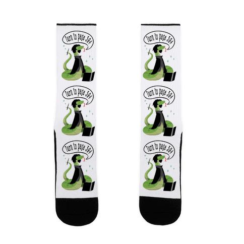 Severus Snake Sock