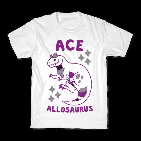 Ace Allosaurus  Kids T-Shirt
