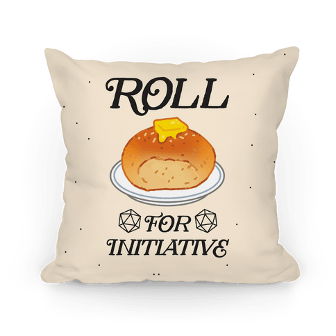 Roll for Initiative Pillow