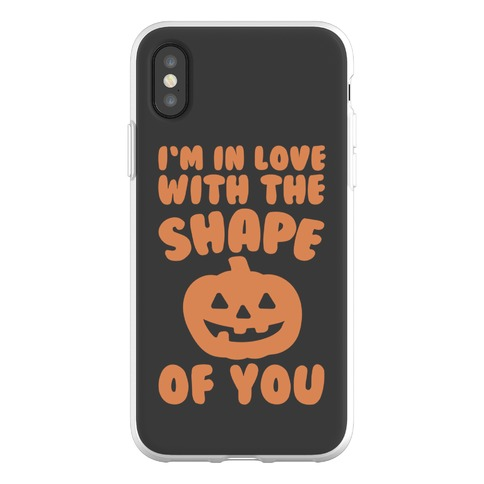 I'm In Love With The Shape Of You Pumpkin Parody Phone Flexi-Case