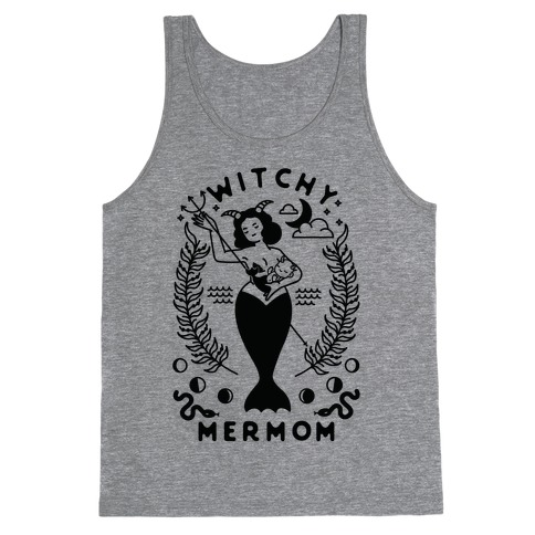 Witchy Mermom Tank Top