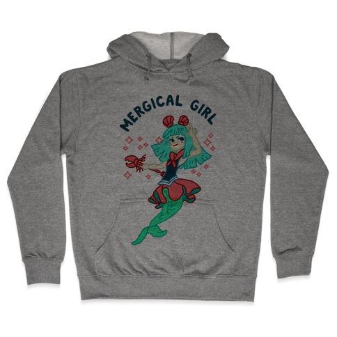 Mergical Girl Hooded Sweatshirt